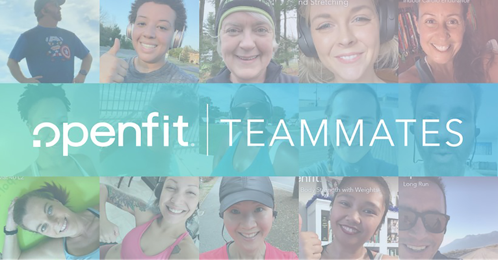 openfit teammates facebook group header