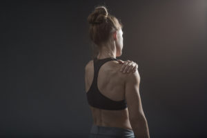 don't strain your shoulders needlessly -- never do these things with your body