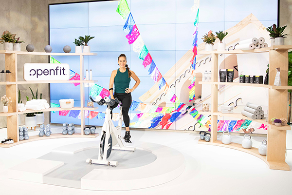 openfit cycling trainer miriam alicea on myx bike