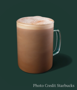 skinny cinnamon dolce latte -- Starbucks fall drinks