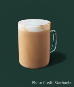 blonde vanilla latte -- Starbucks fall drinks